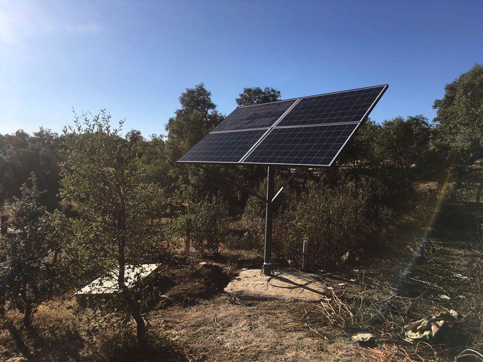Bombeo solar básico